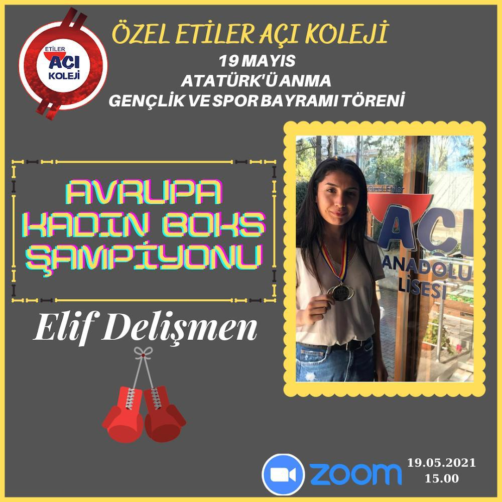 19 Mayıs Atatürk'ü Anma Gençlik ve Spor Bayramı kapsamında Kadın Sporcularımız ile Söyleşi