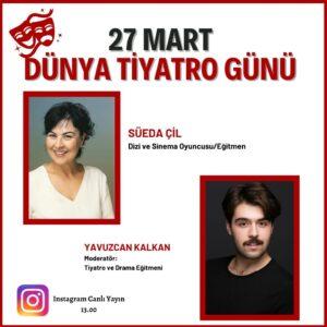 Dünya Tiyatro Günü Etkinliği